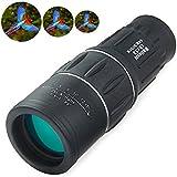 Outlife 16x 52Dual Focus Zoom optique objectif clair HD Télescope monoculaire 16x Noir 1000m pour la chasse randonnée d'événements sportifs