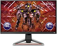 "BenQ MOBIUZ EX2710 - Monitor Gaming de 27"" FullHD (1920x1080, 1ms, 144Hz, IPS, AMD Freesync Premium) - Gr"