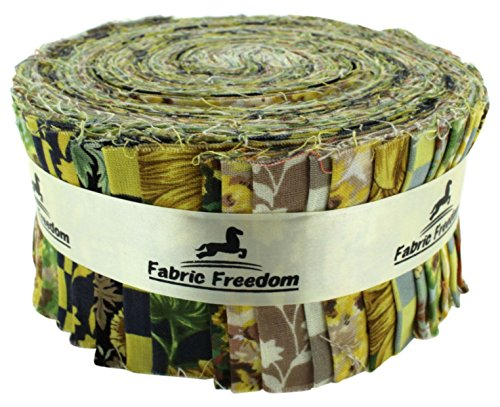 Fabric Freedom Stoff Freiheit Sonnenblume Freiheit Rolle, mehrfarbig