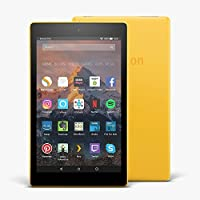 "Fire HD 8 Tablet with Alexa, 8"" HD Display, 16 GB, Canary Yellow - with Special Offers"
