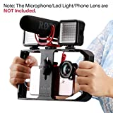 Ulanzi Smartphone Video Rig Pro, iPhone Filmmaking Vlogging Rig Case - Phone Movies