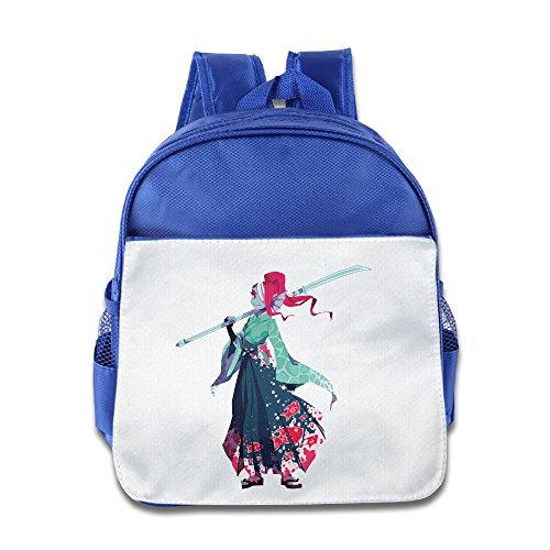 undertale Hakama undyne Kimono Kleinkinder Kinder Schulter Schule Tasche pink, Königsblau (Blau) - KOLA-8217259-ERTshubao-RoyalBlue-29