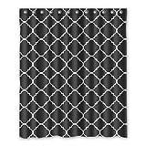 Dalliy Brauch marokkanische muster Wasserdicht Polyester Shower Curtain Duschvorhang 152cm x 183cm