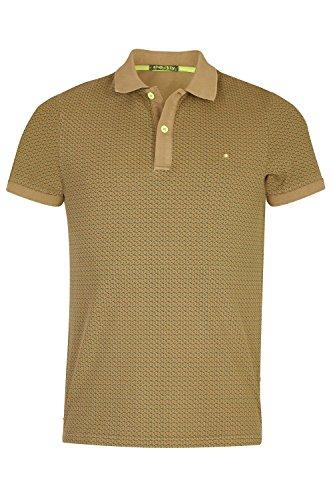 SHOCKLY Herren Poloshirt mit Alloverprint 4X3614 Olive