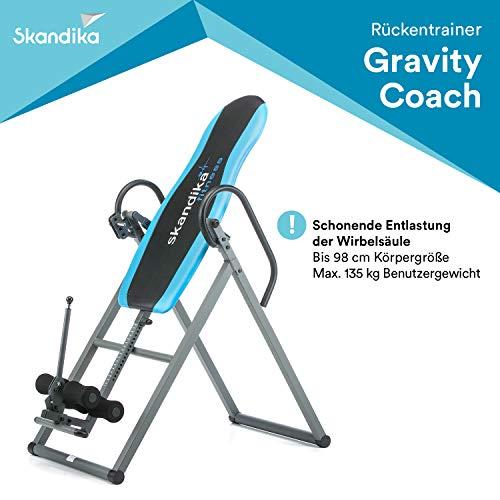 skandika Gravity Coach - Tablas de gravedad - Plegable - Reduce el Dol