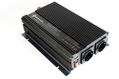 Spannungswandler 24V 1500 3000 Watt 230V - Wechselrichter für den mobilen Anschluss von Haushaltsgeräten ... (Volt 24 Radio)