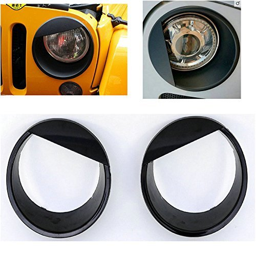 u-box-black-bezels-front-light-7-headlight-angry-bird-eye-style-trim-cover-for-2007-2016-jeep-wrangl