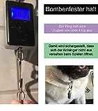 2 geriffelte Adressanhänger für Katzen und Hunde geeignet / Hübscher Halsbandanhänger aus Metall (2 Stück Packung) - 6