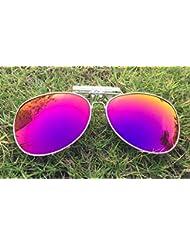 Lunettes de soleil yeux clip Lunettes lentilles-lunettes polarisées clip lunettes de soleil la myopie avec les hommes de crapaud Chao