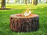 Beliani Feuerstelle braun Leichtbeton rund MERBABU für Beliani Feuerstelle braun Leichtbeton rund MERBABU