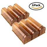 PEDY Set de 6pcs de Ratonera Trampa de Ratones Reutilizable y Reciclable de ABS Plástico Color...