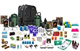"2 x persona 72hr ""Bug Out Bag"" negro"
