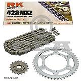 Kettensatz Yamaha WR 125 R, X 09-17, Kette RK 428 MXZ 134, offen, 14/53