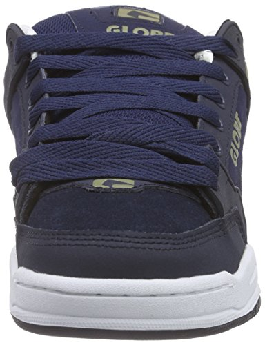 GlobeTilt - Scarpe da Ginnastica Basse Unisex – Adulto Blau (13212 navy/olive)