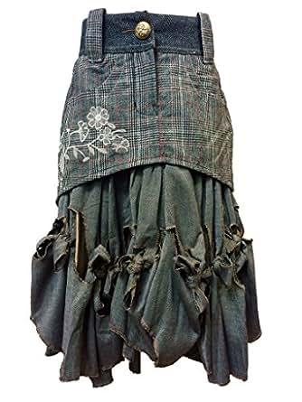 Desigual jupe 87F2773 capriani gris-taille 34