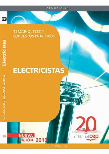 Electricistas. Temario, Test y Supuestos Prácticos (Colección 102) por Sin datos