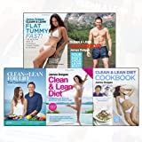 James Duigan Clean & Lean Diet Collection 5 Books Bundle (Clean and Lean for Life: The Cookbook: 150 delicious recipes for a happy, healthy body (Clean & Lean)[Hardcover ], Clean & Lean Diet: The Bestselling Book on Achieving Your Perfect Body, Clean & Lean Diet Cookbook: With a 14-day Menu Plan, Clean & Lean Flat Tummy Fast!: The healthy way to a totally toned tummy in 14 days, Clean & Lean Warrior: Your blueprint for a strong, lean body)
