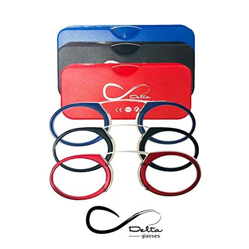 Gafas lectura Delta Glasses estillo Quevedo - 1/1,5/2/2,5/3/3,5/4