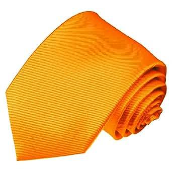 LORENZO CANA Luxury-italiana, realizzata a mano, in seta, in tessuto Jacquard, con fascette in oro bicolore lucido e opaco, modello a cravatta, in tinta unita