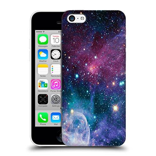 Offizielle Haroulita Weltraum Nebel Fantasy 2 Ruckseite Hülle für Apple iPhone 5 / 5s / SE Weltraum Nebel