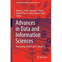 Advances in Data and Information Sciences: Proceedings of Icdis 2017