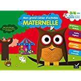 Mon grand cahier d'activités 3/4 ans - Petite et Moyenne Sections