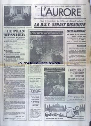 AURORE (L') [No 9179] du 07/03/1974 ...