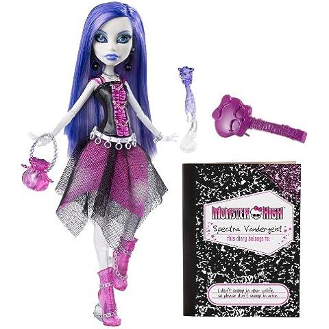 Monster High V7962 - Muñecas Espectra Vondergeist  monstruoso (Mattel) [importado]
