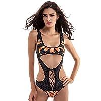 Vovotrade Donne sexy Hollow Bandage Bikini Swimsuit Lace Up Swimwear Bikini Womens