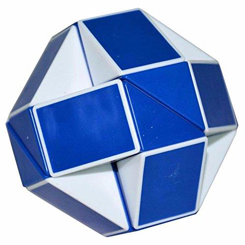 lsmy-serpiente-mgica-gobernante-torcedura-puzzle-cubo-blanco-azul