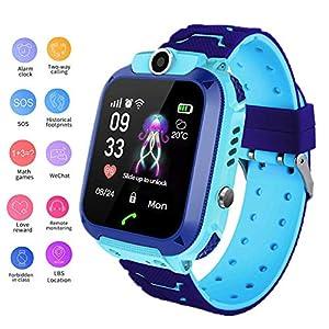 linyingdian Smartwatch Niños, Reloj Inteligente Niña IP67, LBS, Hacer Llamada, Chat de Voz, SOS, Modo de Clase, Cmara… 10
