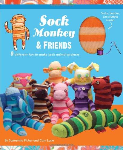 Sock Monkey and Friends Kit (Sock Monkey Handwerk)
