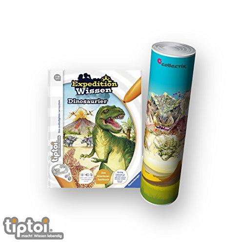 Buch   Expedition Wissen: Dinosaurier + Dino Poster mit Tyrannosaurus Rex ()