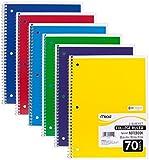 Die besten Mead Notebooks - Mead Spiral Notebook, College liniert, 1Thema, 12Stück Bewertungen