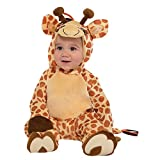 Amscan 9902077disfraz bebé jirafa, 6–12meses