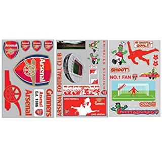 Arsenal F.C. Wall Sticker Pack