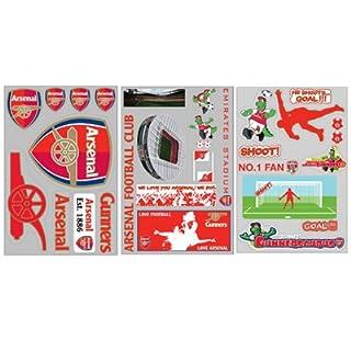 Arsenal F.C. Wall Sticker Pack