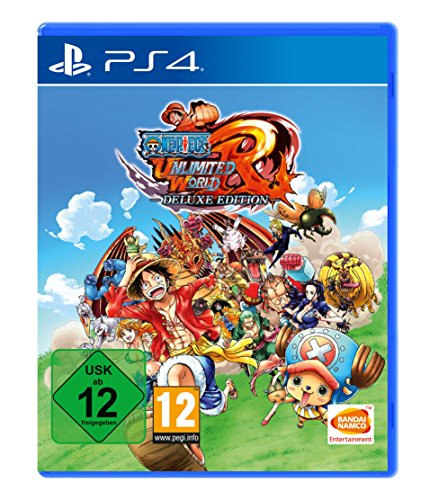 One Piece Unlimited World Red - Deluxe Edition - [PlayStation 4] (One Piece Pirate Warriors Ps3)