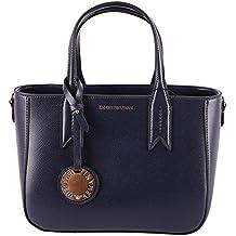 3b7888cf2a Emporio Armani Gli Amanti dello Shopping e Womens Borse a Tracolla, Colore  Blu, Marca