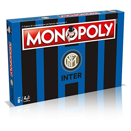 Winning Moves 31493-Inter Brettspiel-Monopoly Teams von Fußball Sammleredition