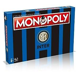 Winning Moves 31493 - Juego de Mesa de Monopoly Squadre de fútbol-Inter