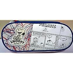 Astuccio Ovale Snoopy con Cerniera Interna