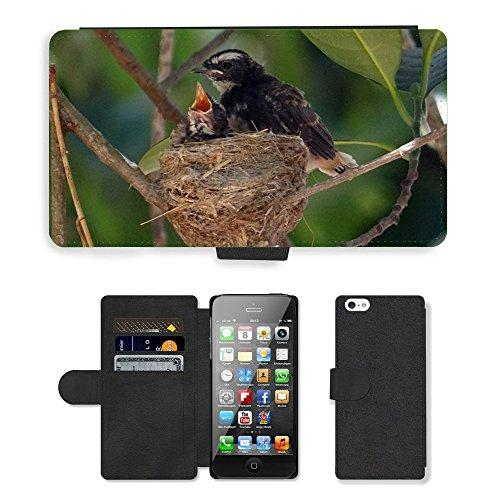 GoGoMobile PU Leather Flip Custodia Protettiva Case Cover per // M00118438 Chicks oisillons // Apple iPhone 5 5S 5G