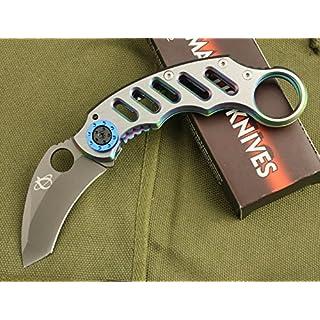 M.T. Tyrannosaurus Rex Klaue Liner Lock Klappmesser Jagdmesser Überlebensmesser Taschenmesser Hunting Folding knife