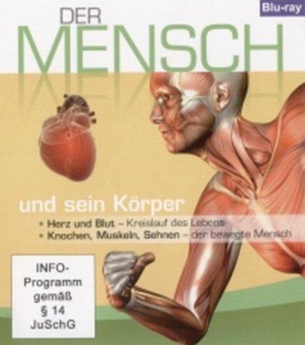 Der Mensch und sein Körper, Teil 2: Herz und Blut, & Knochen, Muskeln, Sehnen (1 Blu-ray, Länge: ca. 62 Min.)