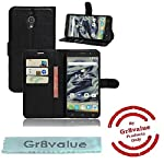 """Alcatel Pixi 4 (5) 4G 5045X mobile phone case cover luxury PU lather magnetic book flip Wallet case for Alcatel Pixi 4 5 inch 4G 5045X Alcatel Pixi 4 5"""" 4G 5045X (Black book case)"""