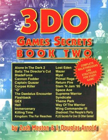 3DO Games Secrets: Bk. 1 (Gaming Mastery)