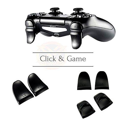 PS4 Controller Trigger Aufsätze / Verlängerte L2 R2 Trigger / Trigger Extender