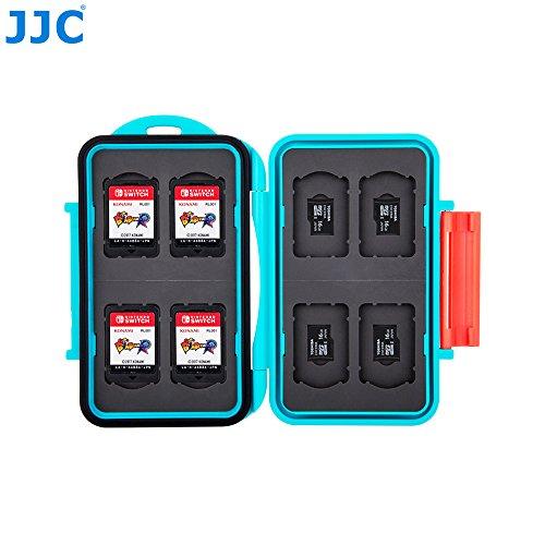 JJC MC-NSMSD16 Aufbewahrungsbox für Karten, Blau