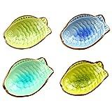 4 PCS kreative Gerichte Mehrzweckgeschirr Relish Geschirr Fische Vier Farben